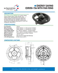 EXRi50-154 with Fan Ring - Datasheet
